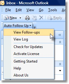 Outlook Follow Up Add-in